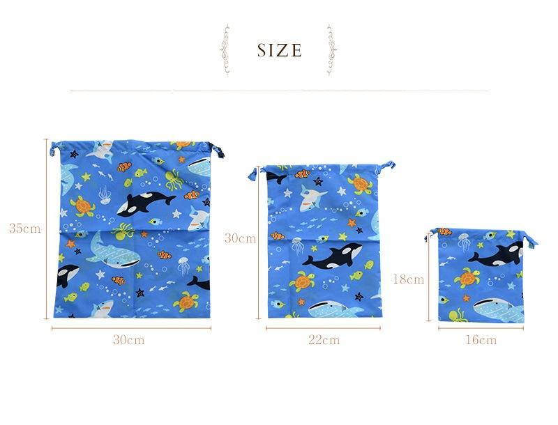 Zazzy Zaps ザジーザップス 巾着3点セット 6601453