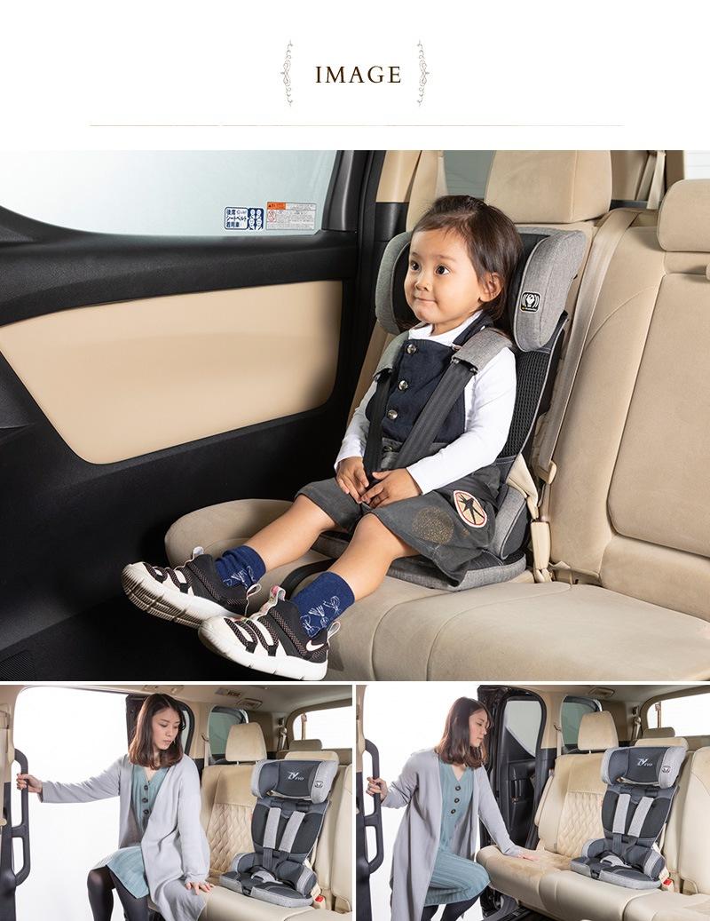 日本育児 トラベルベスト Evo 6100100001  チャイルドシート 簡易 ベルト式 車 軽量