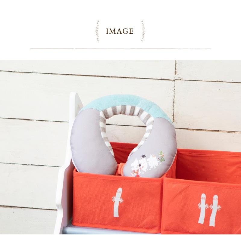 MOOMIN BABY ムーミンベビー ネックサポート 5780102001  ベビーカー 首 クッション ベビー 赤ちゃん チャイルドシート ドライブ 男の子 女の子 ギフト プレゼント 出産祝い