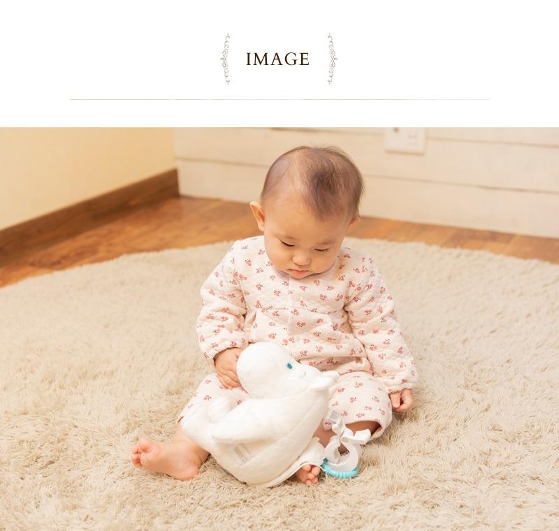MOOMIN BABY ムーミンベビー ミュージカルトイ 5780103001  ぬいぐるみ ベビー 赤ちゃん 0歳 ベビーカートイ おしゃれ かわいい 男の子 女の子 ギフト プレゼント 出産祝い
