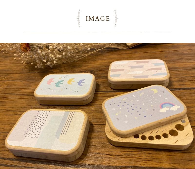 KISS BABY キスベビー 乳歯ケース 88-1299  乳歯ケース 日本製 木製 おしゃれ かわいい 乳歯入れ 乳歯箱 記念日 アニバーサリー 出産祝い ギフト