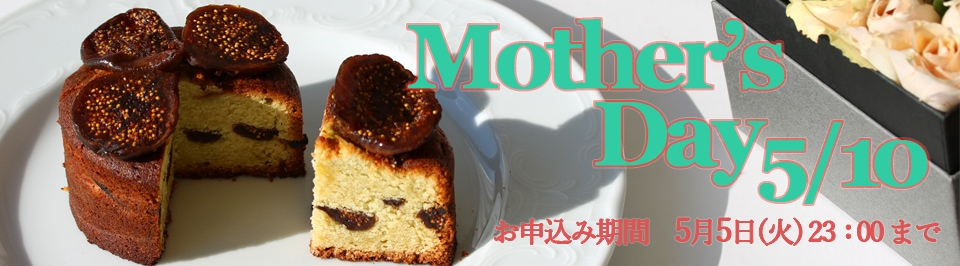 Mother's Day 母の日特集