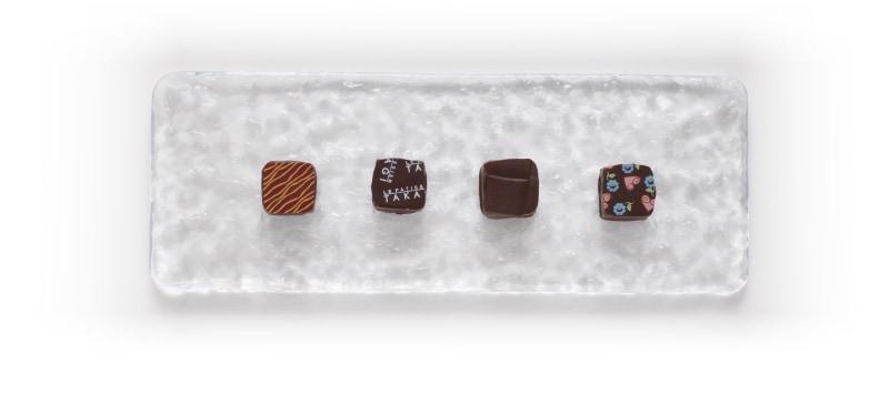 ボンボンショコラ4個入り 真上からの写真