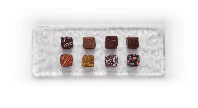 ボンボンショコラ4種入り 真上からの写真