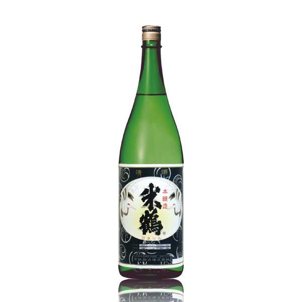 燗酒コンテスト金賞 山形県 米鶴酒造 本醸造 1800ml