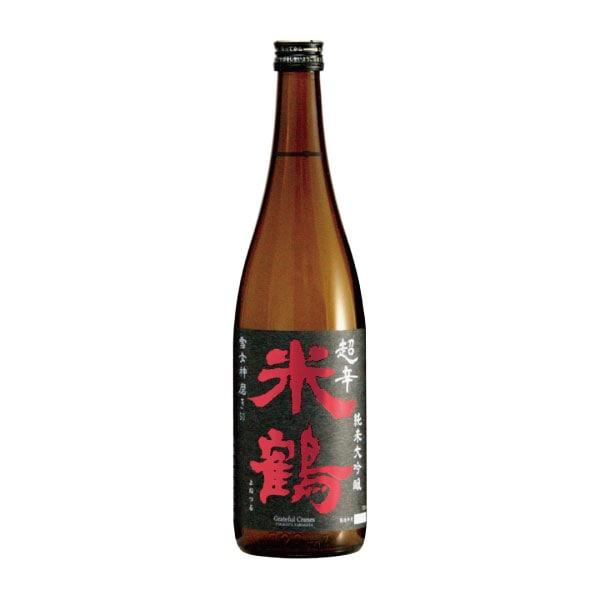 超辛口 純米大吟醸 雪女神 720ml 山形県 米鶴酒造