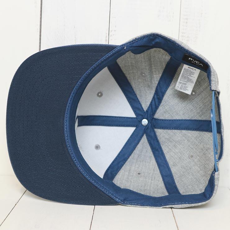 125a89bfd RVCA ルーカ VA SNAPBACK II HAT スナップバックキャップ MAAHWVAS HEATHER BLUE-LUG Lowrs