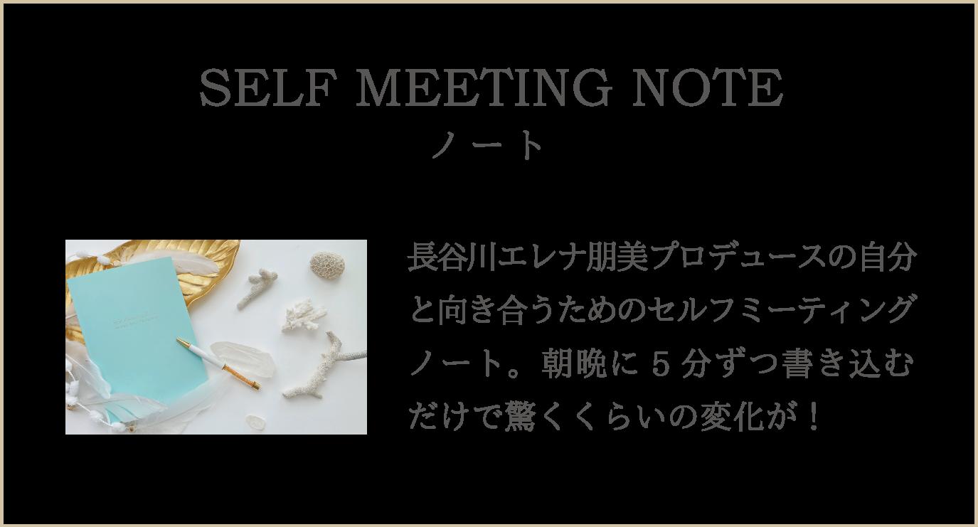 長谷川エレナ朋美 セルフミーティングノート