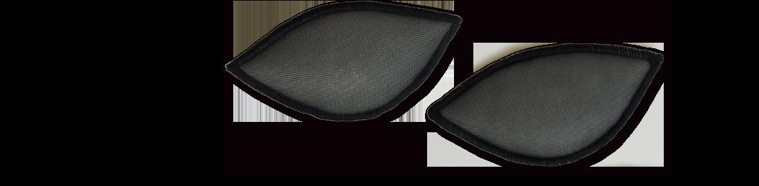補正下着専門店のブルームリュクスが作ったソフトなバスト補正効果のある着心地柔らかなブラジャーはパッドでの左右差などの調節も可能