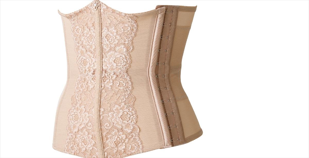 bloomのウエストニッパーは着けやすさや使いやすさにもこだわった補正下着です。
