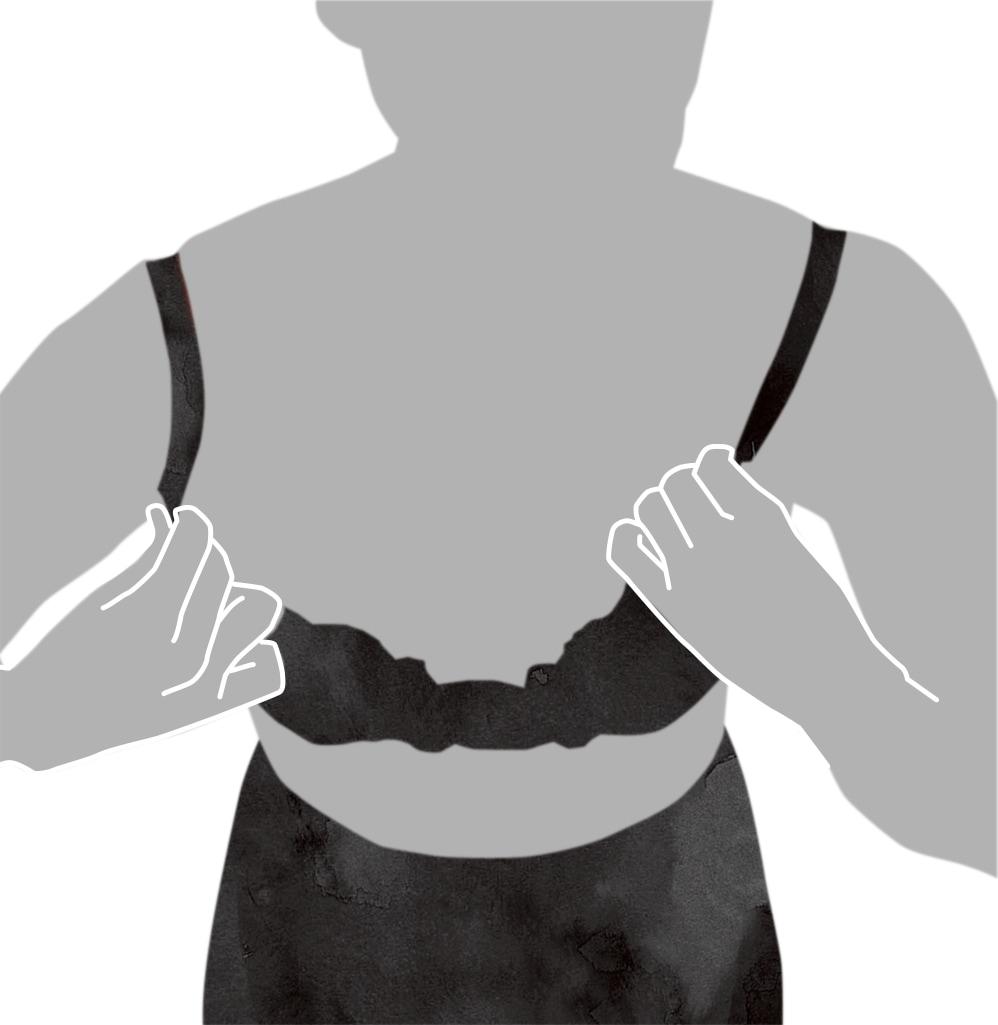 ブラジャーの着用方法応用編①