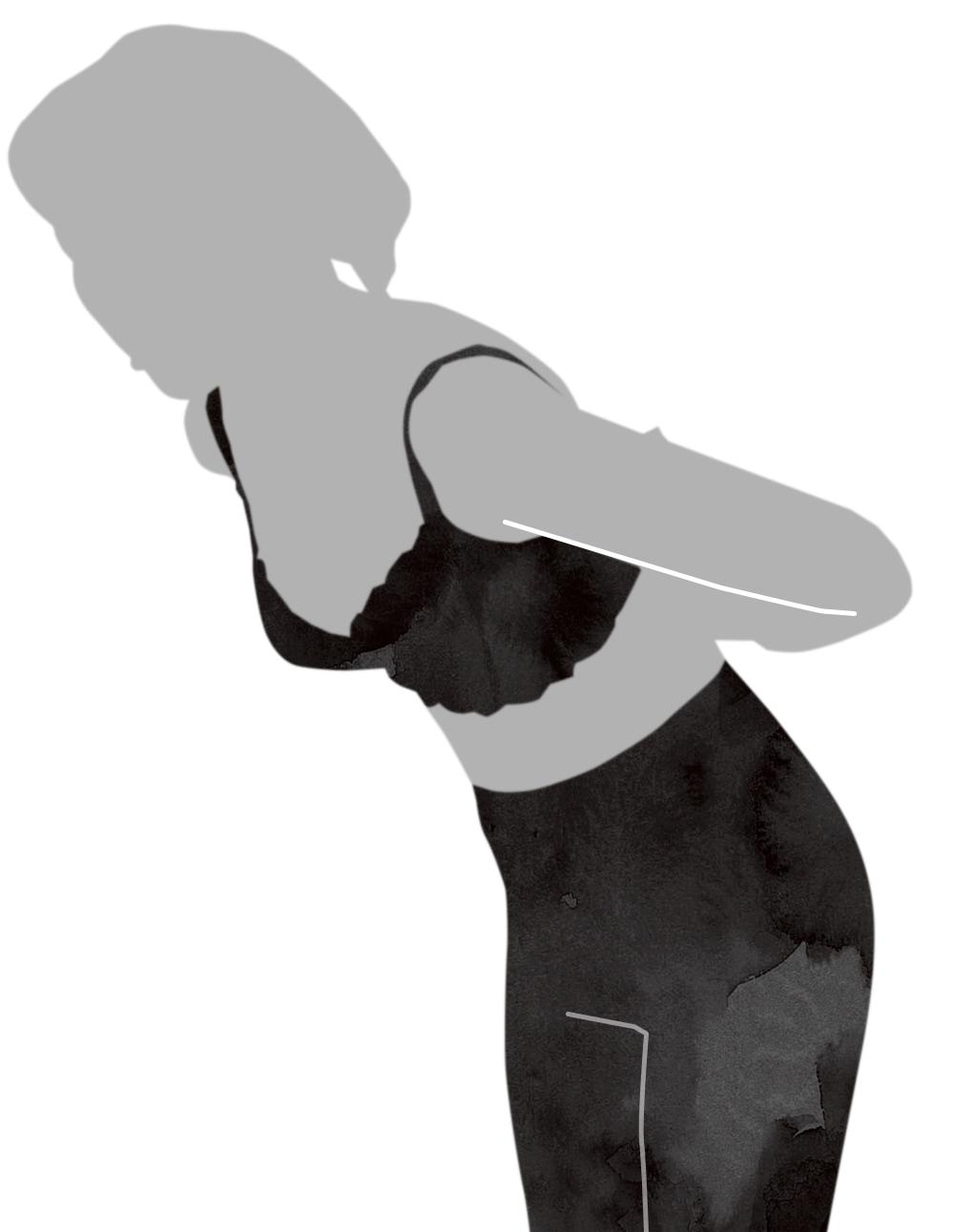 ブラジャーの着用方法②