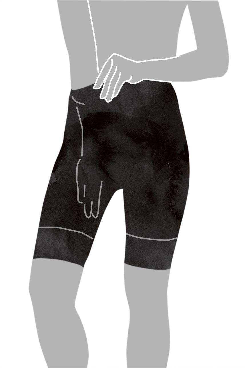 ガードルの着用方法-3