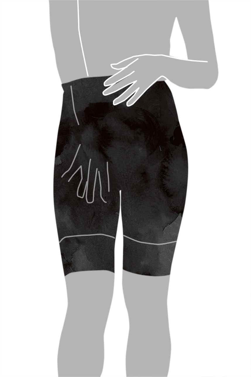 ガードルの着用方法-6
