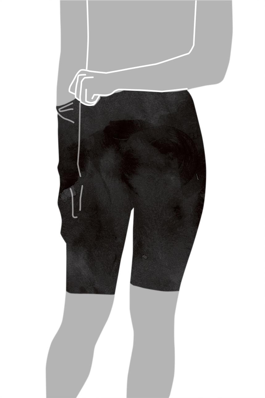 ガードルの着用方法-7