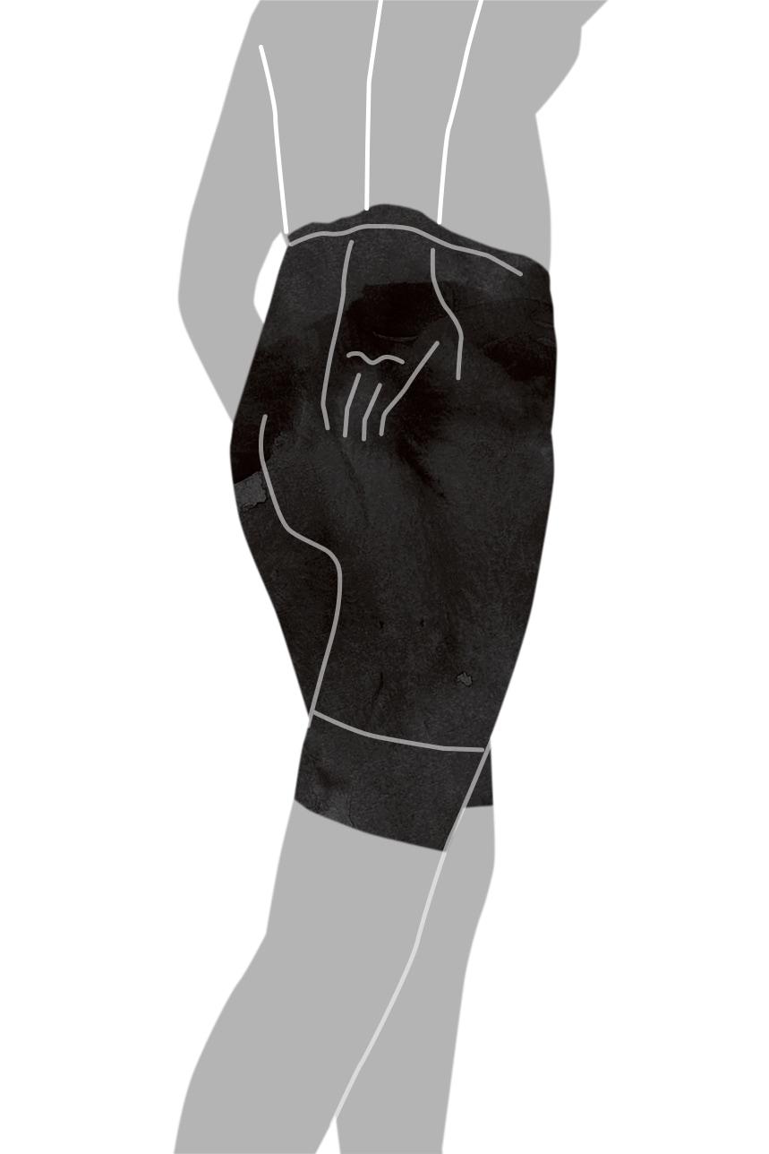 ガードルの着用方法-10