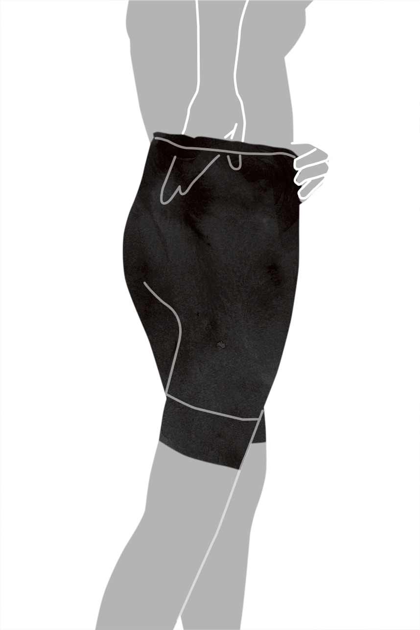 ガードルの着用方法-11