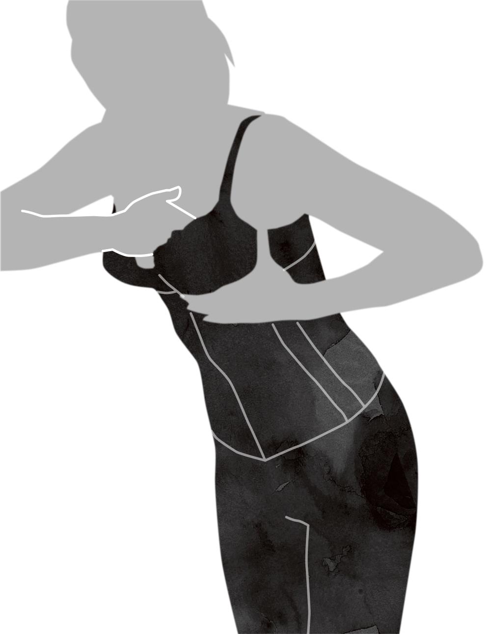 ウエストニッパーの着用方法応用編-6