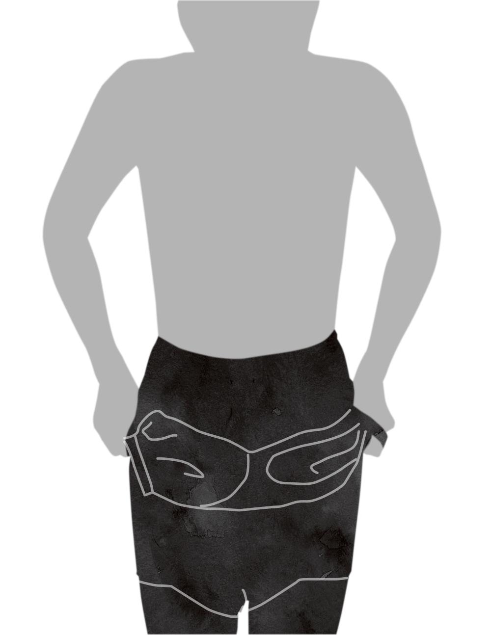 ボディスーツの着用方法-1
