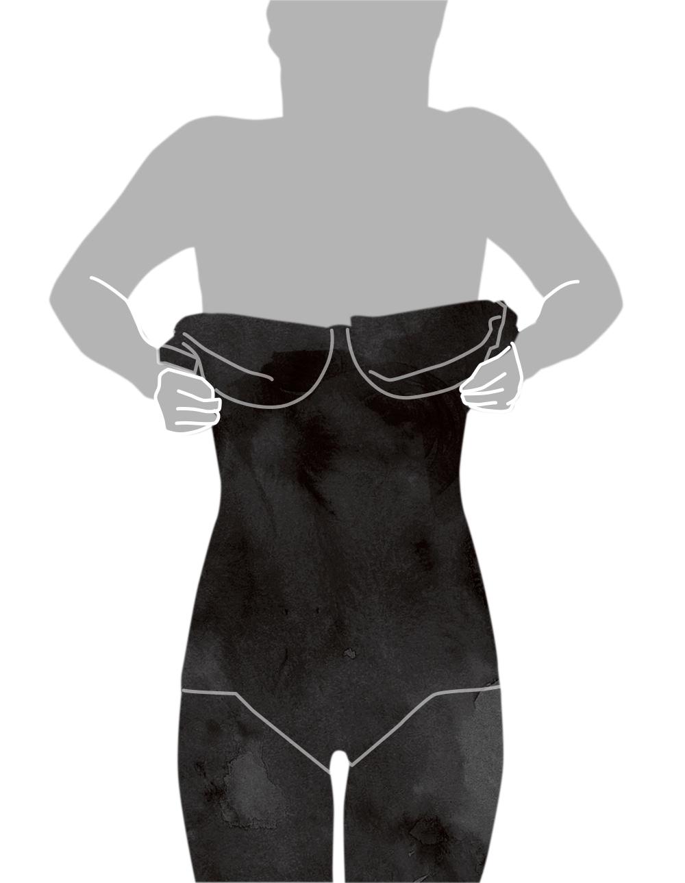 ボディスーツの着用方法-2