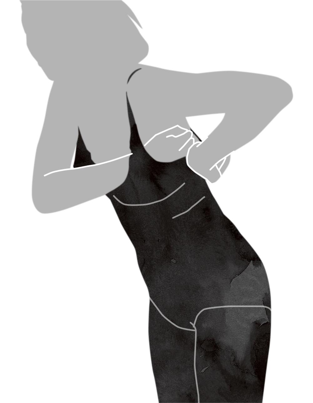 ボディスーツの着用方法-5