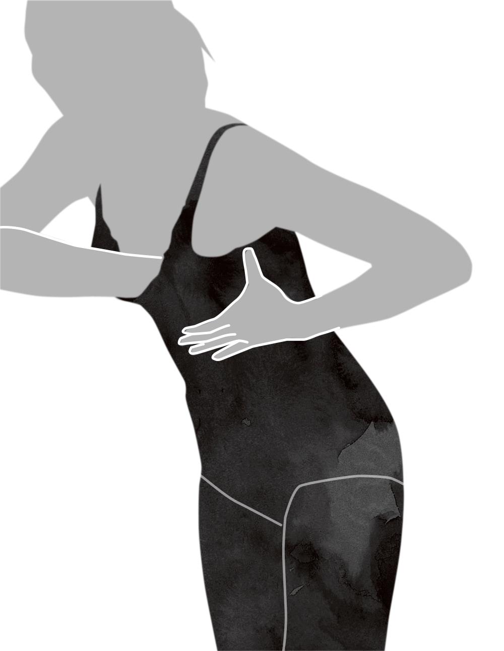 ボディスーツの着用方法-6