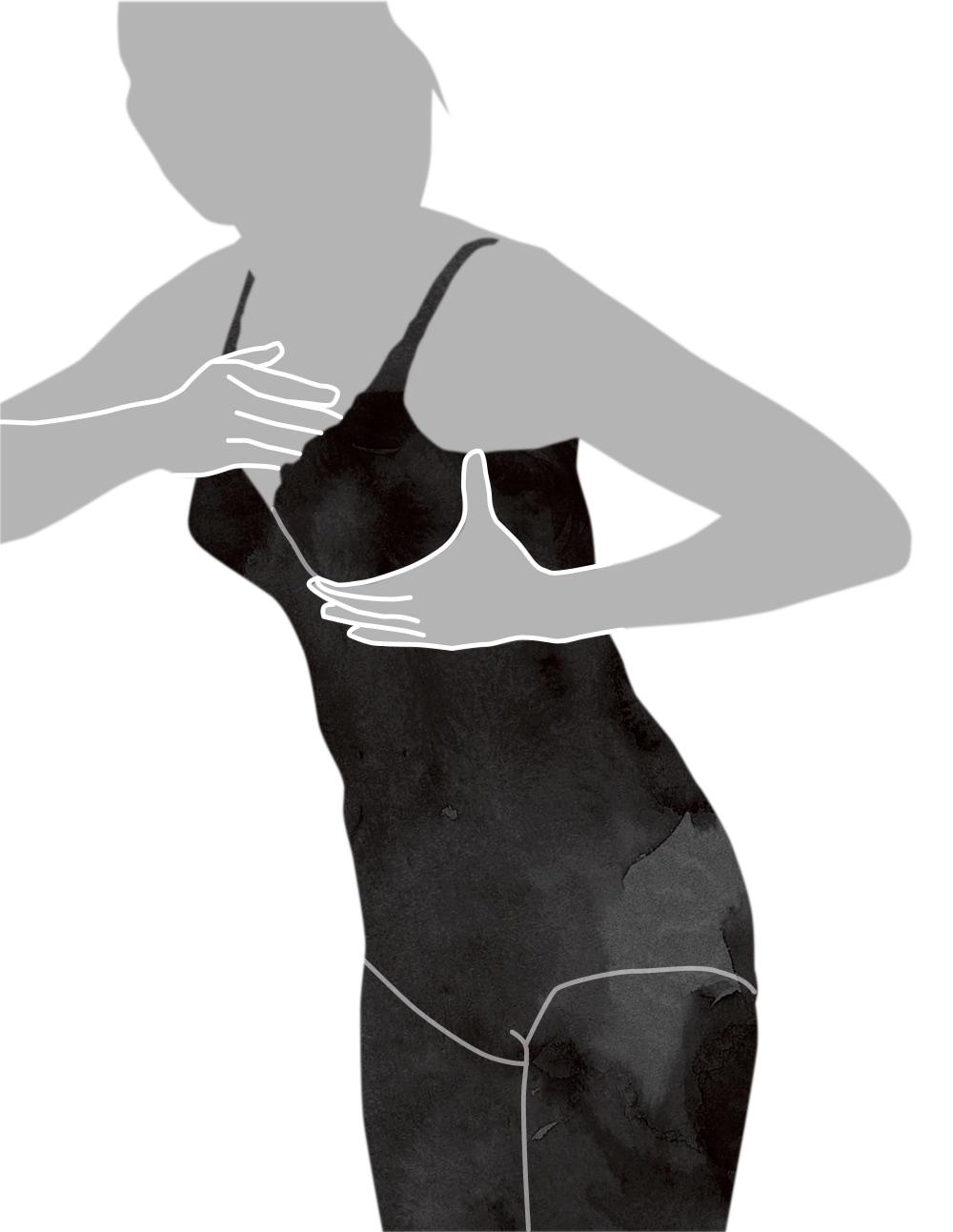 ボディスーツの着用方法-7