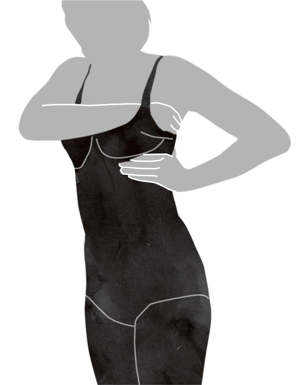 ボディスーツの着用方法応用編-3