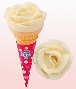 プレーン味アイス