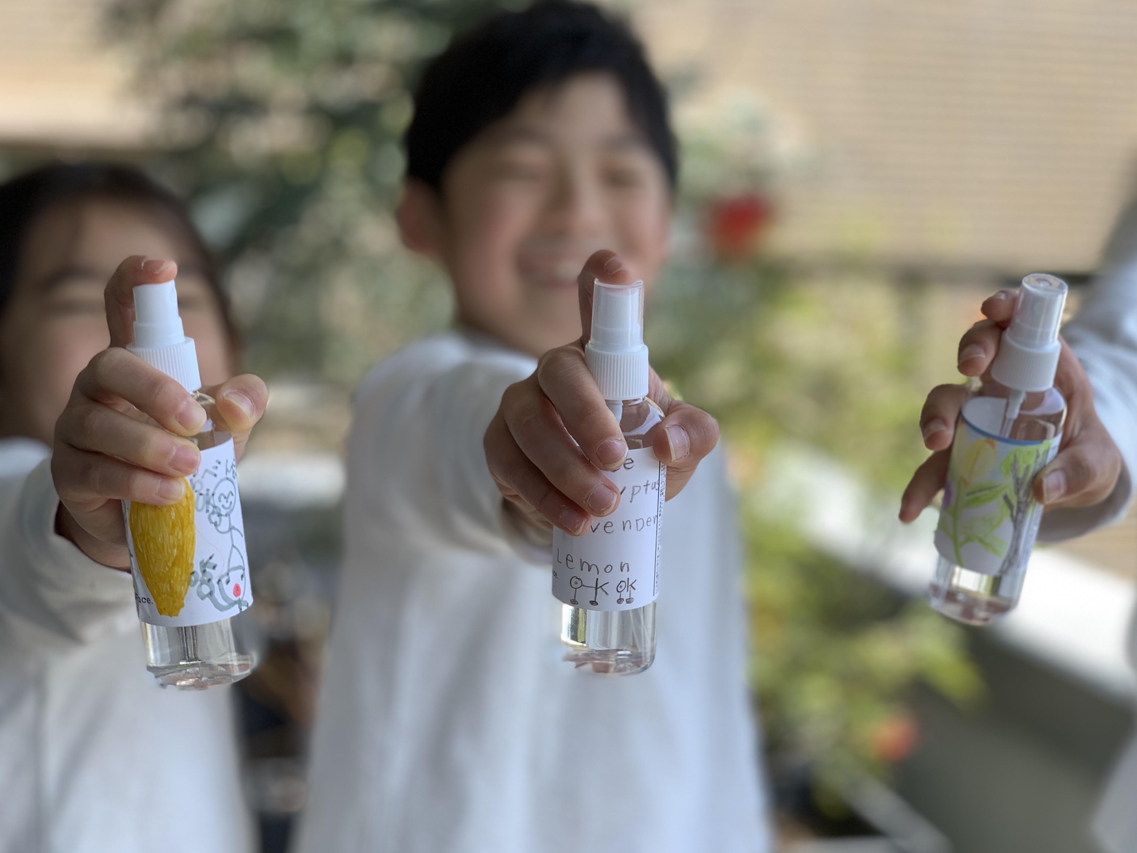 子どもアロマ部イメージ