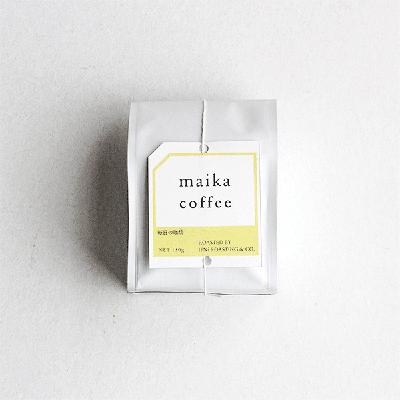 マイカコーヒー/maika(マイカ) × IFNi ROASTING&CO.(イフニ ロースティング&コー)
