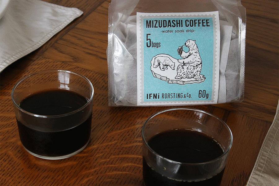 水出しコーヒー(water soak drip)/IFNi ROASTING & CO.(イフニ ロースティング アンド コー)