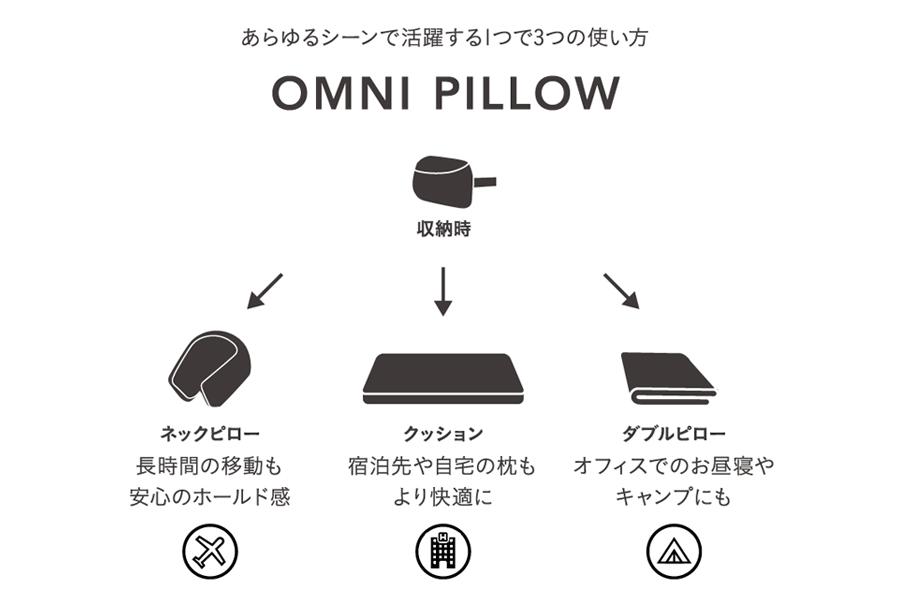 OMNI PILLOW(オムニピロー)/BANALE(バナーレ)