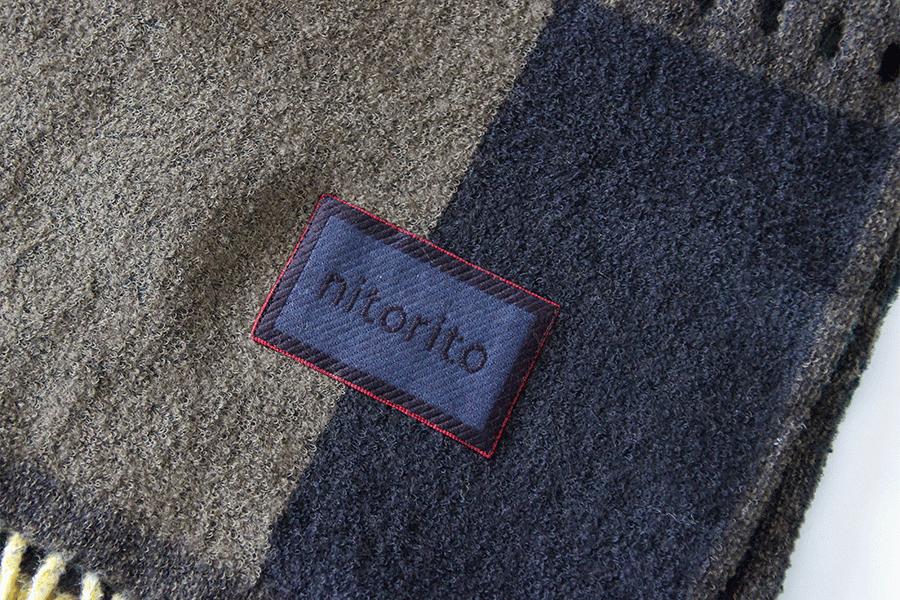 ストール ブランケット/nitorito(ニトリト)