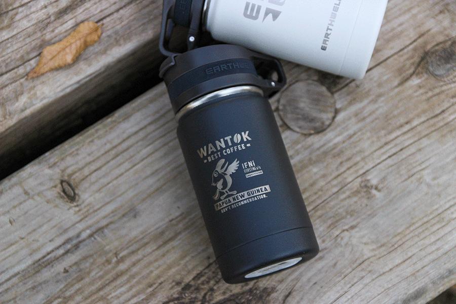 Insulated Bottle ステンレスボトル/IFNi ROASTING&CO.(イフニ ロースティング&コー) × EARTHWELL(アースウェル) wantok(ワントク)