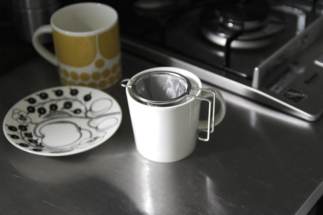 マイグラス深型茶こし/工房アイザワ