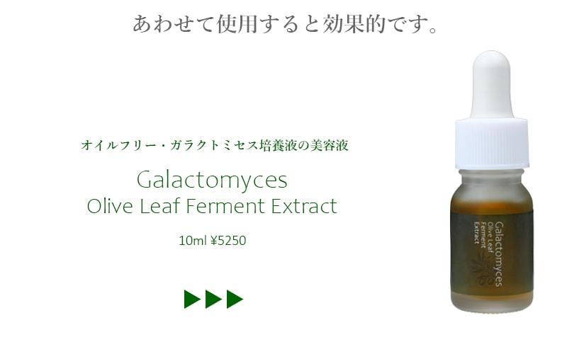 ガラクトミセス培養液の美容液