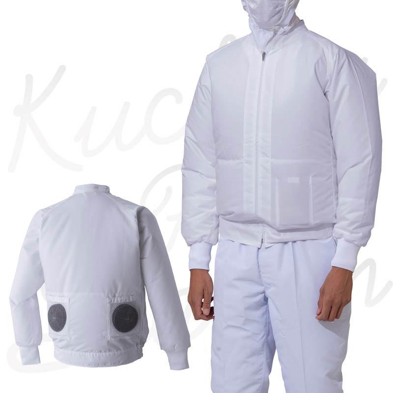 空調風神服 AT003 モデル着用