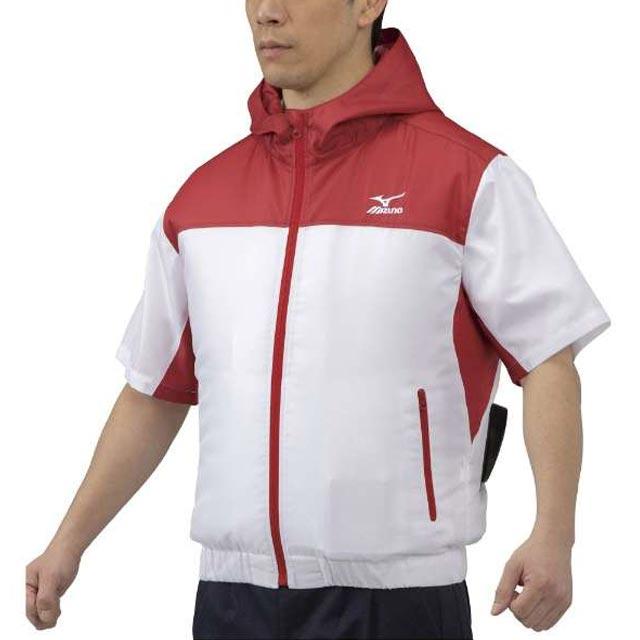 空調風神服 C2JE0101 モデル着用