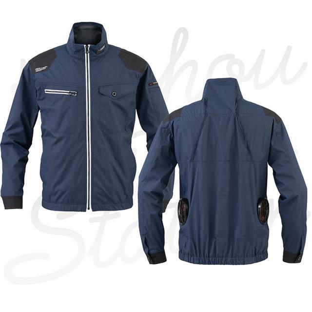 空調風神服 EBA5037 モデル