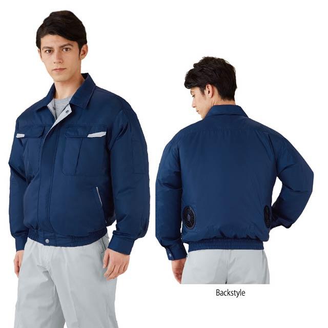 リップストップ 空調服 87010-HLBS セット
