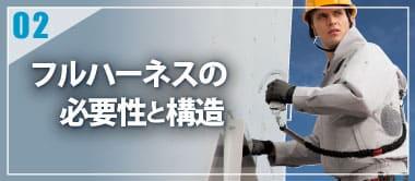 空調服の豆知識[フルハーネスの装着方法]
