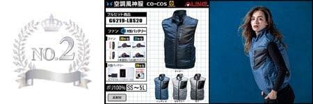 空調服『カモフラ柄』部門ランキング:NO.2