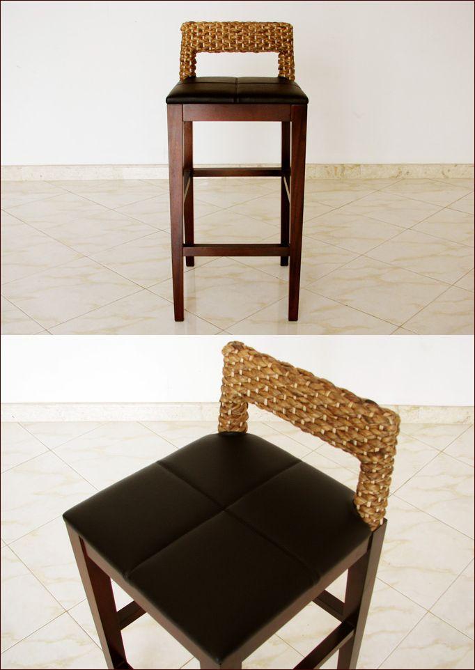 アジアン家具,バリ家具,椅子,カウンターチェアー,カウンタースツール,グレイスノート家具,ウォーターヒヤシンス