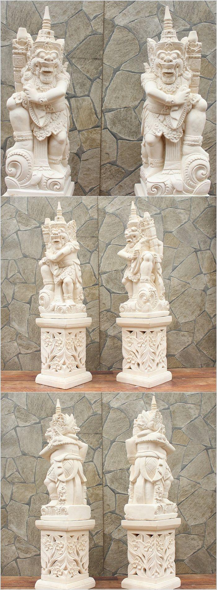 アジアン,石彫り,石像 ラクササ,バリ島,ストーンカービング,外構,ガーデニング