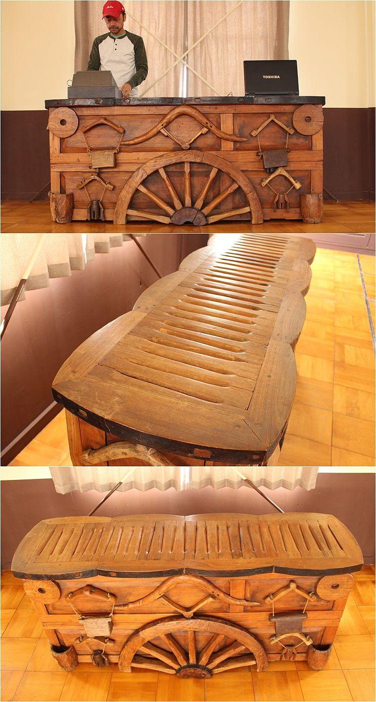 チーク家具,古材 古木,アジアン,無垢の家具,レジカウンター,受付カウンター,レセプション