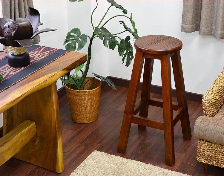 アジアン家具 バリ家具 チーク 無垢 古材 古木 スツール