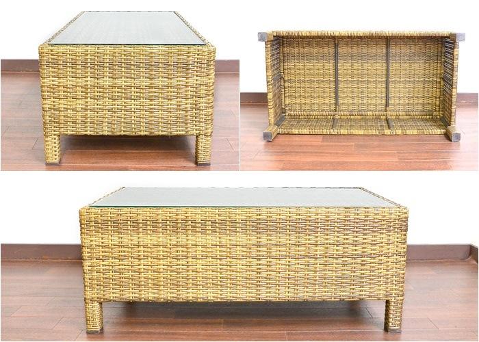 シンセティックラタン 人工ラタン,アジアン家具,テーブル,ソファテーブル,ローテーブル