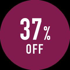 37%OFF