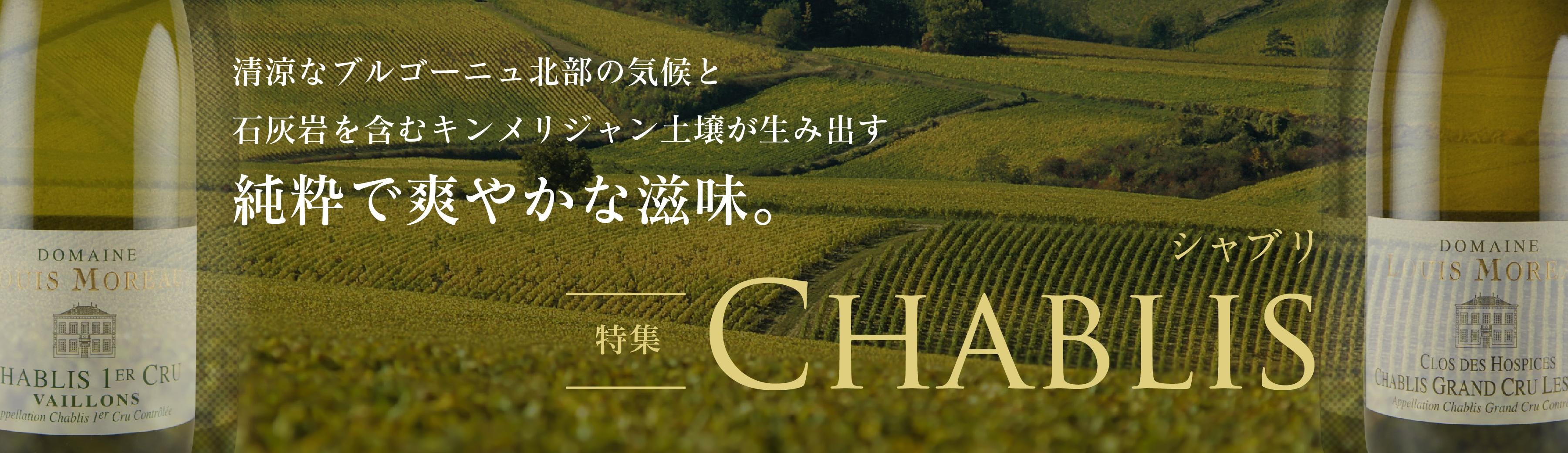 Chablis - シャブリ特集